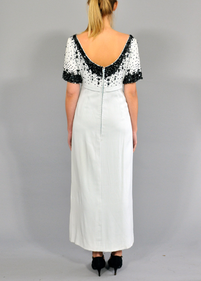 great Gatesby Vintage Evening Dress, Designer Vintage Dresses, Online Vintage Clothing, Norfolk Vintage Boutique, Norfolk