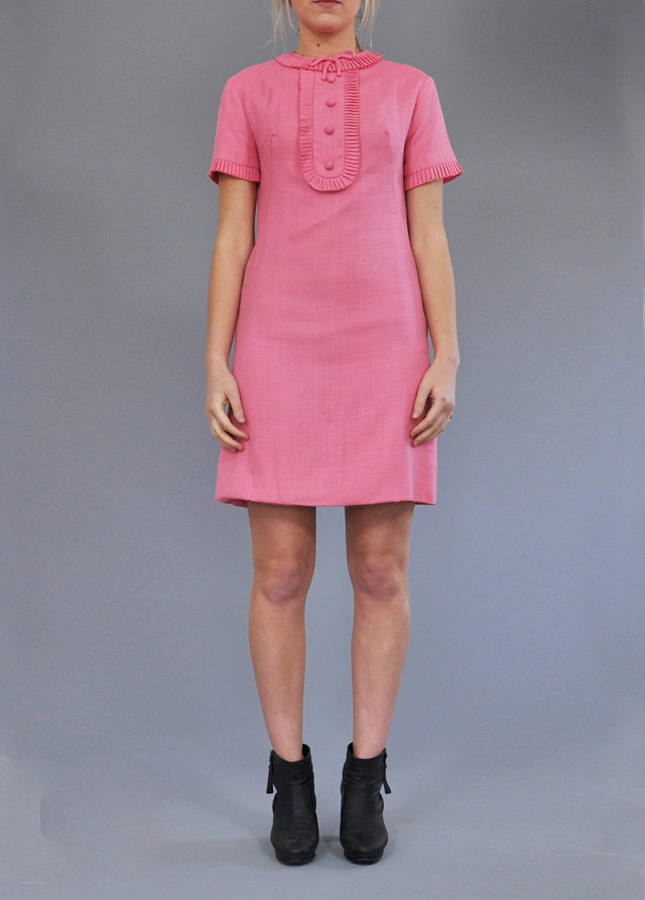 1960s Pink Vintage Dress, Vintage Deli, Vintage Clothing Online, Norfolk