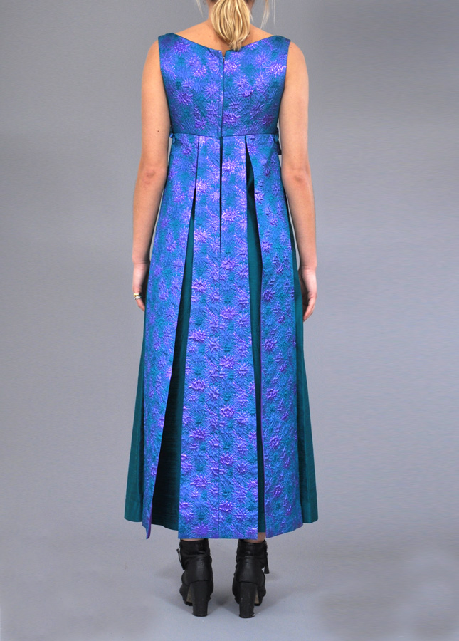 Striking 60s Donerica Empire Gown, Vintage Evening Dress, Vintage Dresses, Vintage Deli Clothing, Online Vintage Clothing